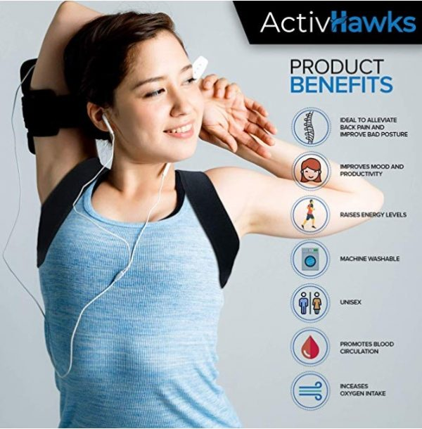 Avantages du correcteur de posture ActivHawcks