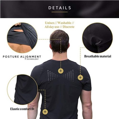 T-shirt correcteur de posture